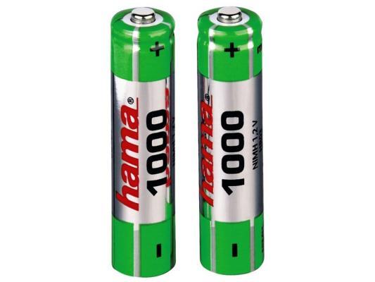 Аккумулятор Hama H-87055 1000 мАч AAA 2 шт аккумулятор varta 05703301412 1000 мач aaa 2 шт