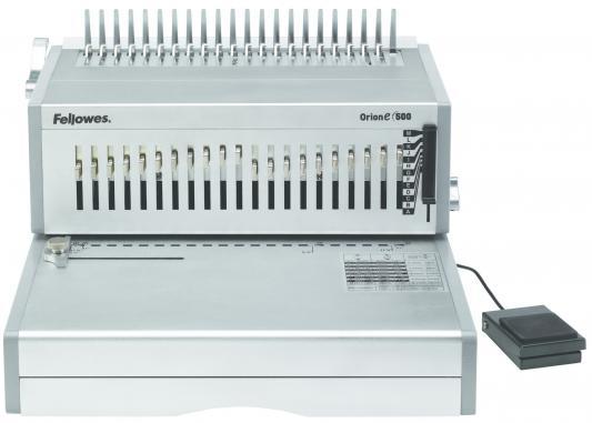 Переплетчик Fellowes ORION-E 500 A4 перфорирует 30 листов сшивает 500 листов пластиковые пружины 6-54мм FS-5642701