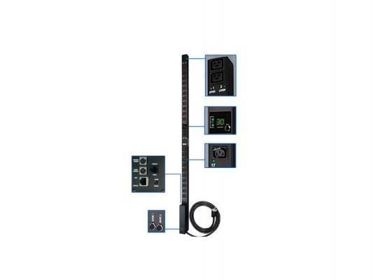 Блок розеток Tripp Lite Single-Phase Switched PDU 230В 32А PDUMV32HVNET цена и фото