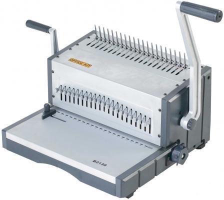 Переплетчик Office Kit B2130 A4 перфорирует 30 листов сшивает 500 листов пластиковые пружины 4.5-51мм