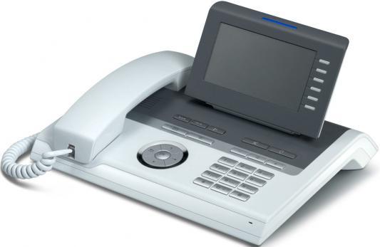Телефон IP Siemens Unify OpenStage 40 SIP голубой L30250-F600-C108