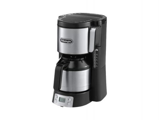 Кофеварка Delonghi ICM 15750 капельная 1000Вт черный gross piranha 23620