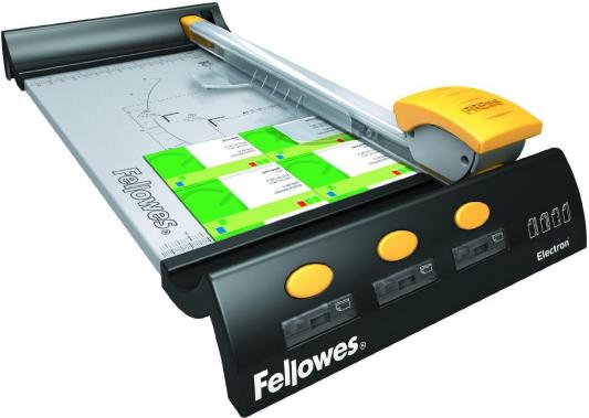 Резак дисковый Fellowes Electron A4 10лист 320мм ручной прижим FS-5410401
