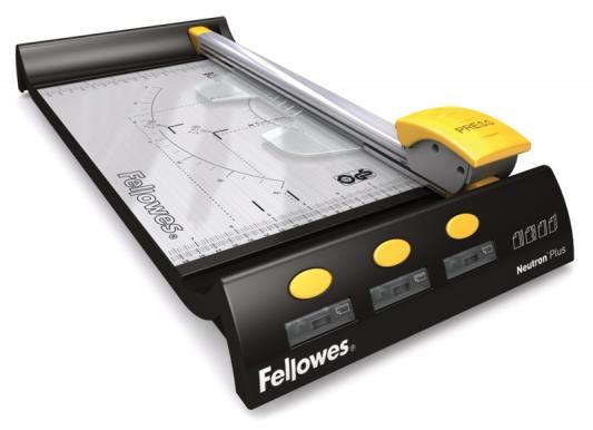 Резак дисковый Fellowes Neutron A4 Plus A4 10лист 320мм ручной прижим FS-5410101