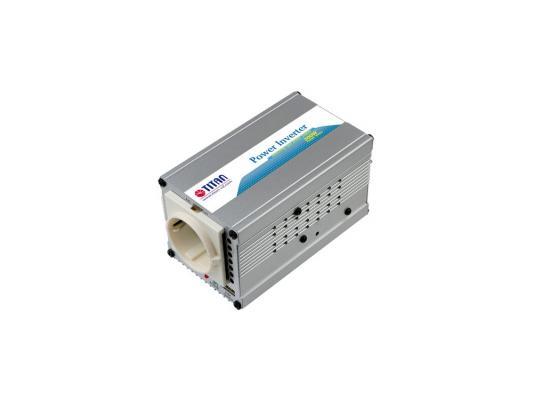 Автомобильный инвертор напряжения Titan TP-300L6 300Вт автомобильный инвертор напряжения digma dci 300 300вт