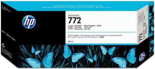 Картридж HP CN633A №772 для HP DJ Z5200 300мл черный картридж hp 772 cn634a light gray cn634a