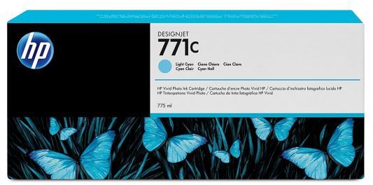 Картридж HP B6Y12A №711С для HP Designjet Z6200 775мл светло-голубой недорого