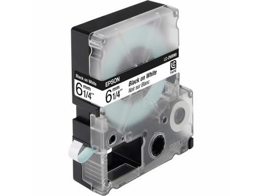 Лента Epson LC-2WBN9 для Epson LabelWorks LW-300/LW-400/LW-400VP/LW-700/LW-900P черный