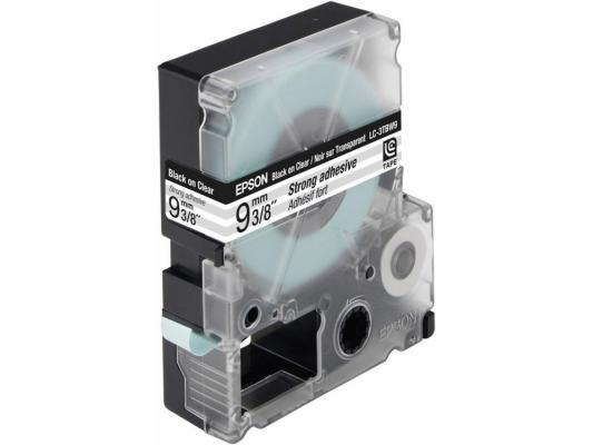 Лента Epson LC-3TBW9 для Epson LabelWorks LW-300/LW-400/LW-400VP/LW-700/LW-900P черный