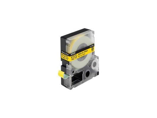 Лента Epson LC-4YBW9 для Epson LabelWorks LW-300/LW-400/LW-400VP/LW-700/LW-900P черный
