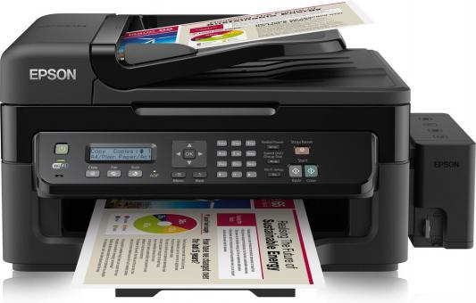 МФУ Фабрика печати Epson L555 цветной A4 33ppm 5760x1440dpi USB C11CC96403