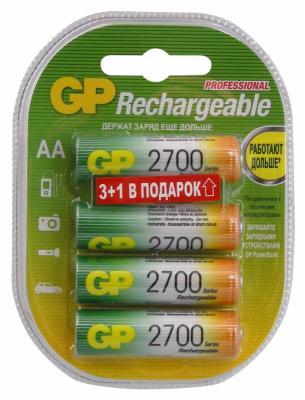 все цены на Аккумуляторы 2700 mAh GP 270AAHC3/1-2CR4 AA 4 шт онлайн