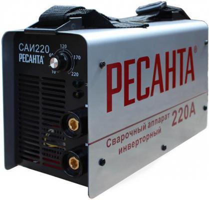 Аппарат сварочный Ресанта САИ 220 инверторный от 123.ru