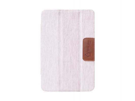 Чехол двусторонний GoodEgg DoubleSide для планшетов 7 кожа/ткань черный/белый GE-UNI7DS-BW