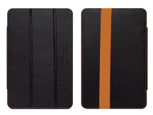 """Чехол двусторонний GoodEgg DoubleSide для планшетов 7"""" кожа/ткань черный/оранжевый GE-UNI7DS-BT"""