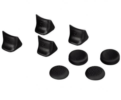 Набор накладок Hama H-51889 для контроллера Sony PS3 8шт черный