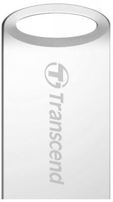 Флешка USB 16Gb Transcend JetFlash 510S TS16GJF510S серебристый флешка usb 16gb transcend jetflash 380 ts16gjf380s серебристый