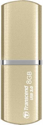 Флешка USB 8Gb Transcend Jetflash 820G TS8GJF820G золотистый флешка usb 16gb transcend jetflash 710 ts16gjf710g золотистый