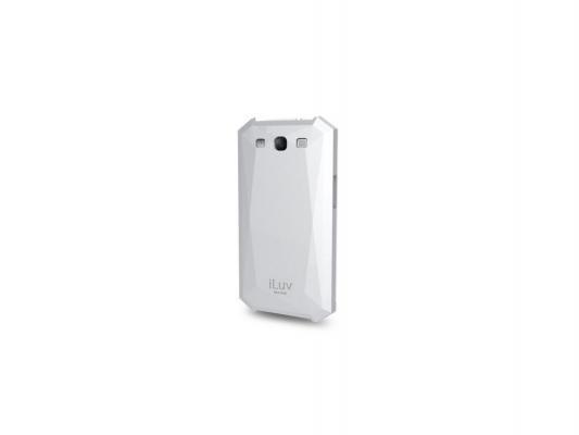 Чехол iLuv для GalaxyS 3 Mazarin пластик белый iSS242WHT