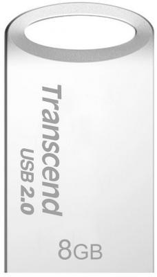 все цены на Флешка USB 8Gb Transcend Jetflash 510S TS8GJF510S серебристый онлайн