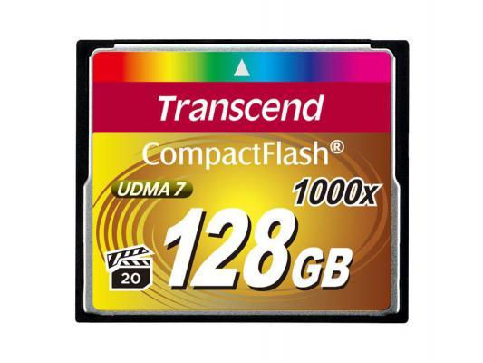 Фото - Карта памяти Compact Flash Card 128GB Transcend 1000x TS128GCF1000 micro camera compact telephoto camera bag black olive