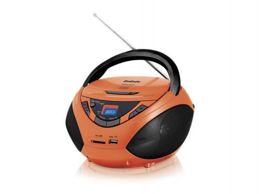 Магнитола BBK BX108U оранжевый/черный