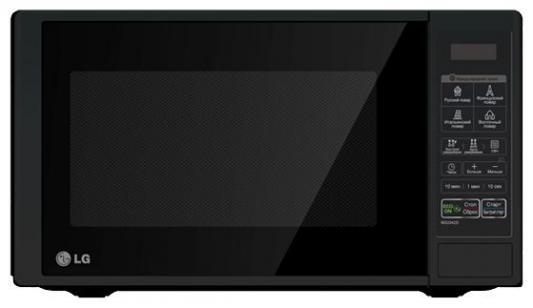 СВЧ LG MS-2342DB 800 Вт чёрный батарейку на lg kg 800