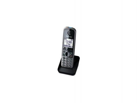 Дополнительная трубка DECT Panasonic KX-TGA671RUB черный для KX-TG67xx