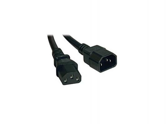 Кабель Tripplite P004-006 AC Power Extension Cable C14 to C13 - 6 ft. кабель tripplite p004 006 ac power