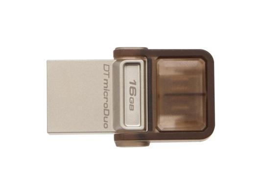 Внешний накопитель 16GB USB Drive <USB 2.0> Kingston DTDUO (DTDUO/16GB)