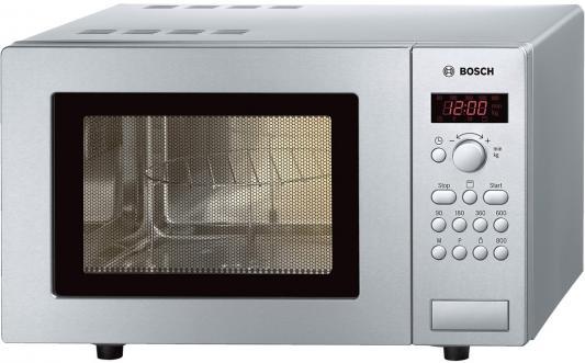 СВЧ Bosch HMT75G451R 800 Вт серебристый