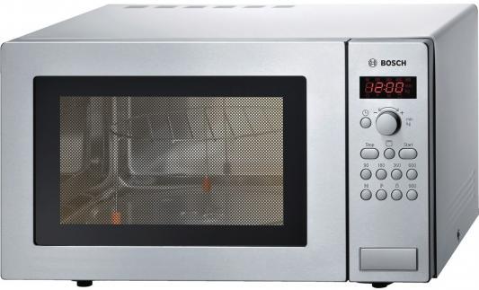 СВЧ Bosch HMT84G451R 900 Вт серебристый bosch hmt84g451r