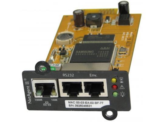 Адаптер Powercom SNMP для ИБП NetAgent II BT506 внутренний 3 порта
