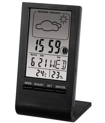 Термометр-гигрометр Hama H-75297 TH-100 черный