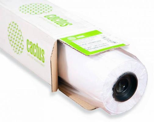 """Бумага для плоттера Cactus CS-LFP90-610457 24"""" 610мм х 45.7м 90г/м2 без покрытия втулка 50.8мм"""