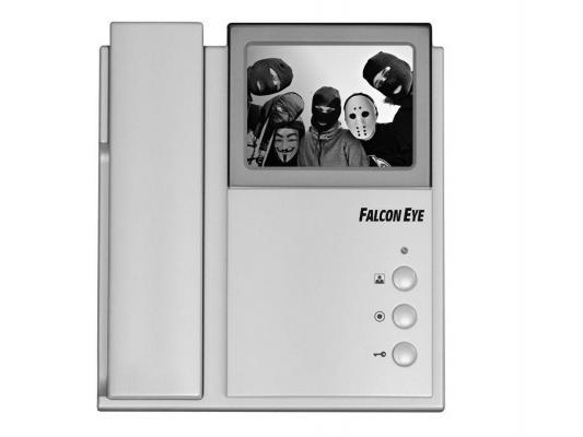 """Комплект видеодомофона Falcon Eye  """"Энтер""""  Ч-б видеодомофон  + вызывная накладная панель + замок электромеханический  + блок питания"""
