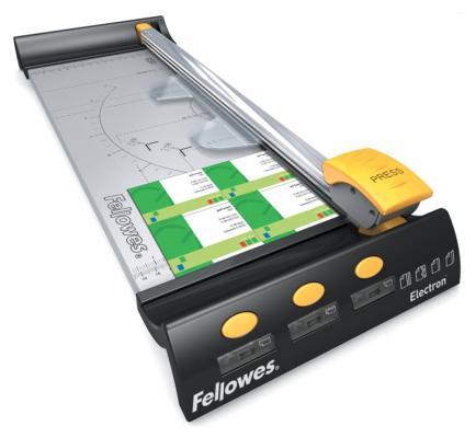 Резак дисковый Fellowes Electron A3 10лист 455мм ручной прижим FS-5410501 fellowes fellowes electron a3