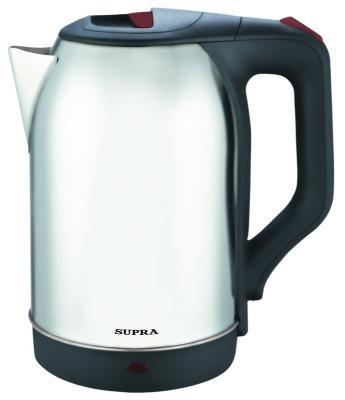 Чайник Supra KES-2230 2200 Вт серебристый 2.2 л металл термопот supra tps 3016 730 вт 4 2 л металл серебристый