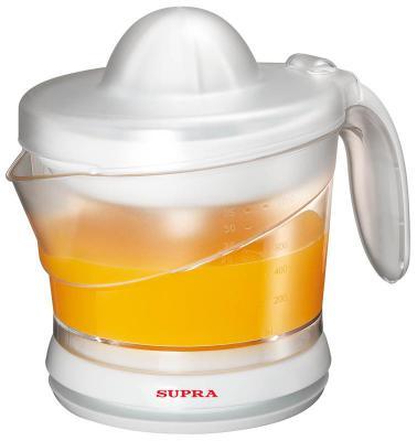 Соковыжималка Supra JES-1025 25 Вт пластик белый