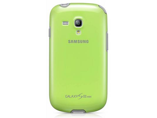 Чехол Samsung для GT-I8190 Galaxy S 3 Mini зеленый EFC-1M7BGE чехол samsung efc 1m7bpegstd для samsung galaxy s3 mini розовый