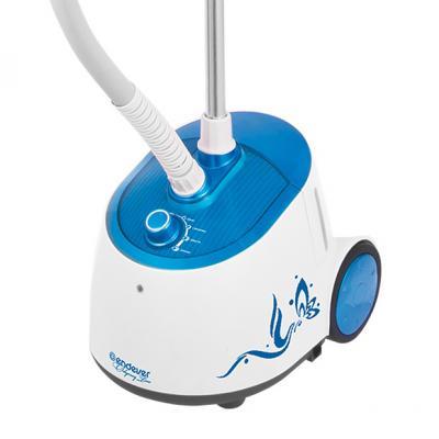Отпариватель для одежды Endever ODYSSEY Q-306, мощность 1750 Вт, производительность пара (г/мин): 36гр, цвет корпуса белый/синий