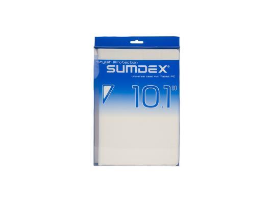 """Чехол SUMDEX TCC-100 WT Чехол для планшета 10"""" универсальный Белый"""