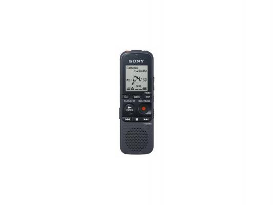Цифровой диктофон Sony ICD-PX333M 4Гб черный