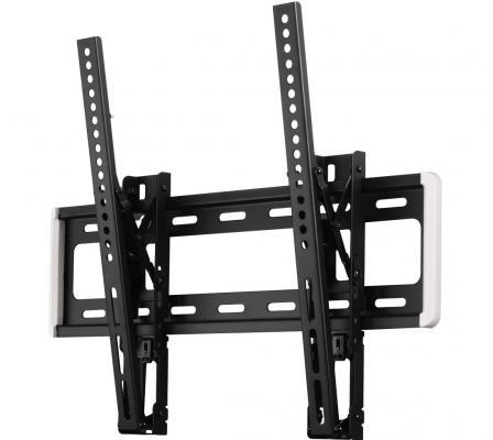 "все цены на Кронштейн HAMA MOTION H-118628 XL черный для ЖК ТВ 32"" - 56"" настенный наклон 12° VESA 400x400 до 40 кг онлайн"