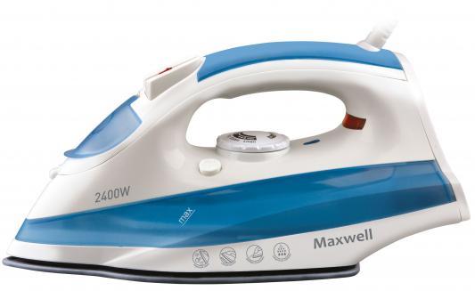 Утюг Maxwell MW-3020-B 2200Вт белый-синий