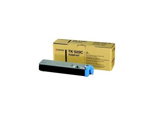 Картридж Kyocera TK-520C для FS C5015N голубой 4000стр картридж kyocera tk 540c для fs c5100dn голубой 4000стр