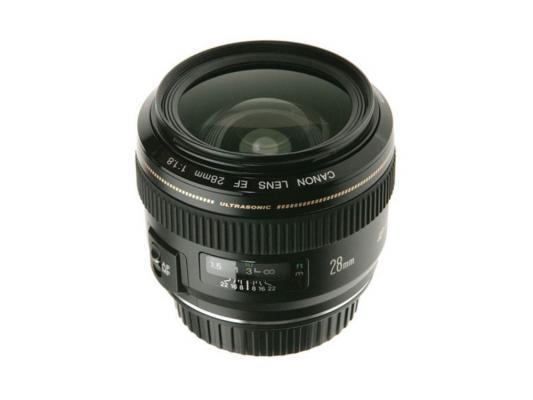 Объектив Canon EF 28mm F1.8 USM 2510A010 объектив canon ef 24mm f 2 8 is usm черный