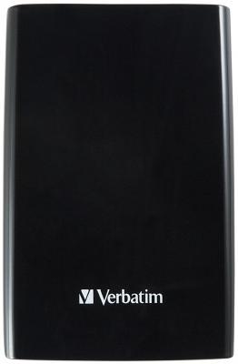 """Внешний жесткий диск 2.5"""" USB3.0 1Tb Verbatim Store n Go черный 53023"""