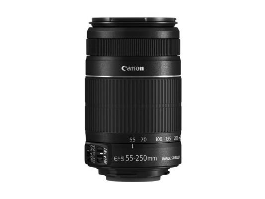 Объектив Canon EFS 55 - 250мм F/4.0-5.6 IS STM 8546B005 объектив canon ef s is stm 1620c005 18 55мм f 4 5 6 черный