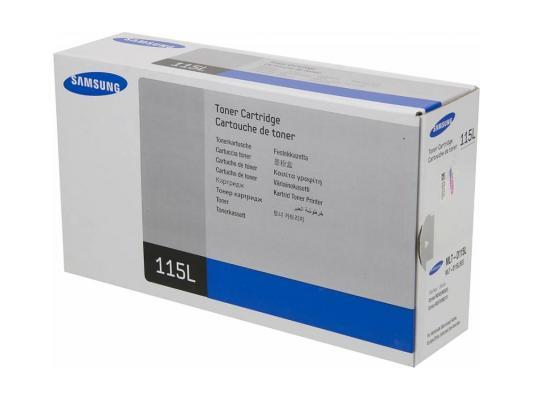 Тонер-Картридж Samsung MLT-D115L для SL-M2620D/M2820ND/M2820DW черный 2500стр цена 2016